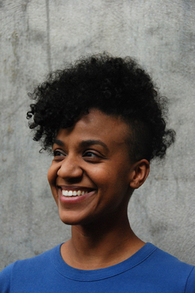 La artista Kapwani Kiwanga